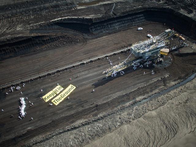 Ende Gelände für den Kohleabbau in der Lausitz