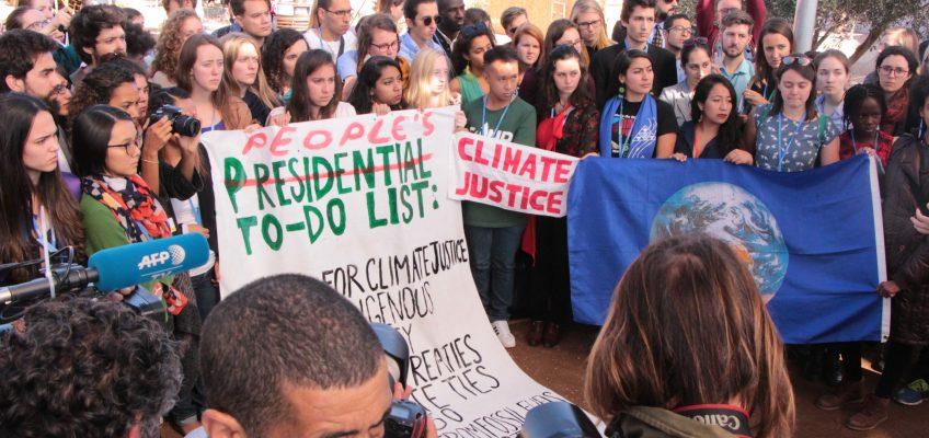 Wahl von Trump: Schlechtes Klima auf der Konferenz — mit Aktionsvideo