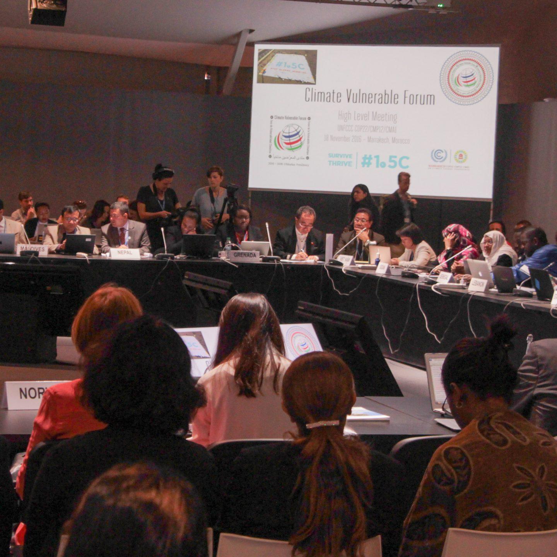 COP22: Länderinitiativen machen Hoffnung, politisches Moment bleibt aus