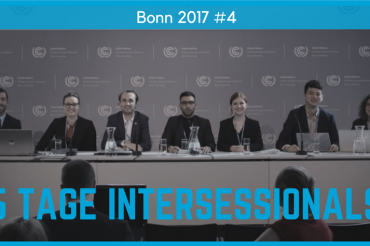 5 Tage Intersessionals — So weit sogut