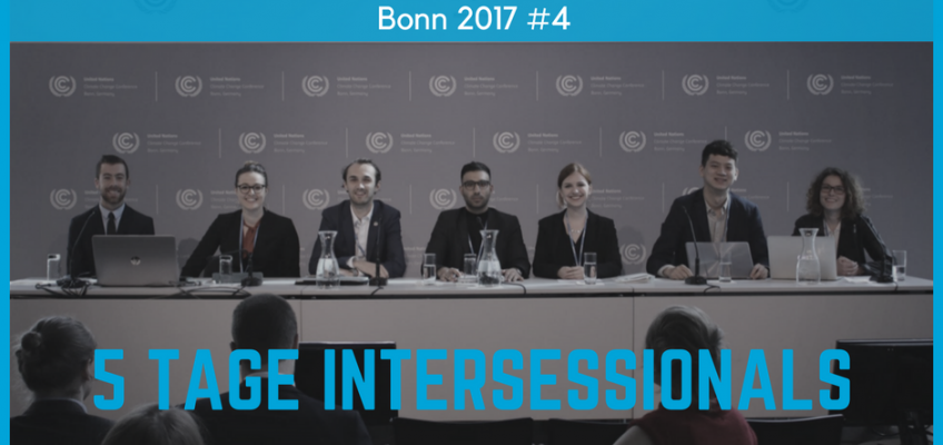 5 Tage Intersessionals — So weit so gut