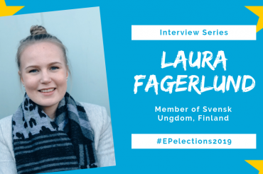 #EP2019: Interview with Laura Fagerlund, Member of Svensk Ungdom