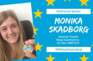 #EP2019: Interview with Monika Skadborg, Danish Youth representative to the UNFCCC