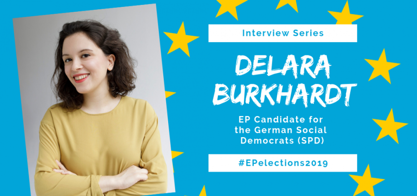#EP2019: Interview with Delara Burkhardt, Candidate for the German Social Democrats in the EU-Elections