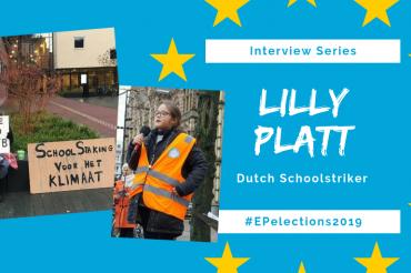 #EP2019: Interview with Lilly Platt, 11-year-old Dutch Schoolstriker