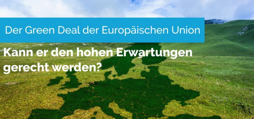 Der Green Deal der Europäischen Union