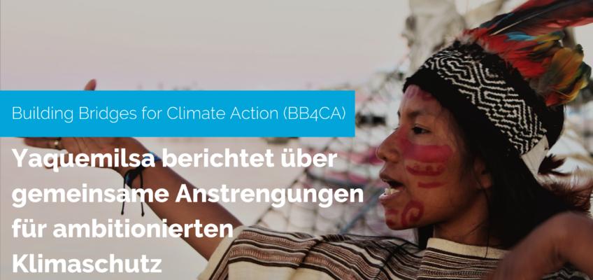 Meine Erfahrung mit Building Bridges for Climate Action